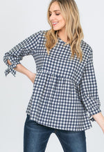Checkered Top - T425