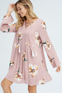 Aubrey Floral Dress- T352