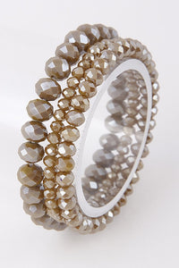 Neutral Shimmer Bracelet Set - B53