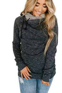 Charcoal Heather Double Hoodie