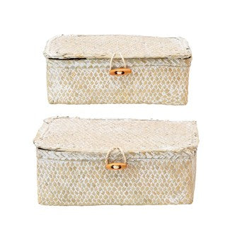 Seagrass Boxes Set of 2