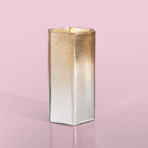 Candle- Crystal Pine Glitz Hexagon, 17 oz