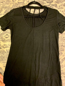Black Caged Top