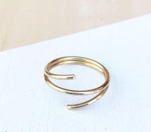 RGD Brass Wrap Ring