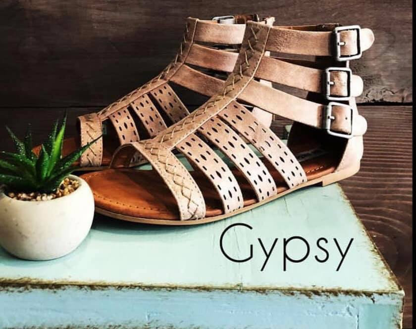 Gypsy Suede Gladiators