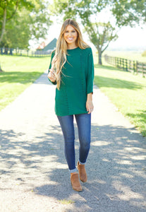 Green Sweater- T261