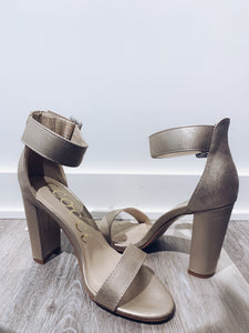 Holly Champagne Heels