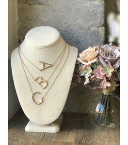 Initial Necklaces - B50