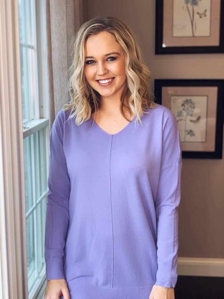 Lilac Sweater- T1087