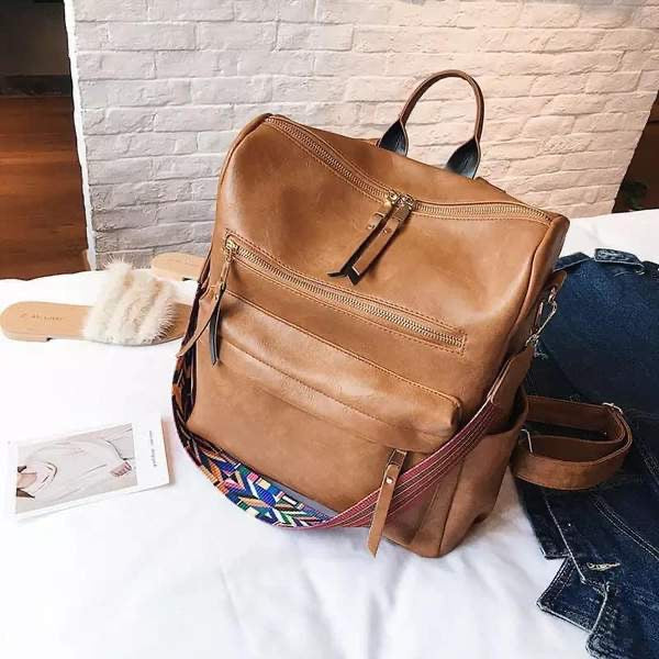 Josie Backpack (Cognac)
