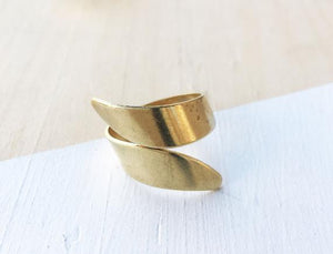 RGD Thick Brass Wrapped Ring