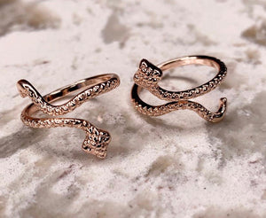 RGD Rose Gold Snake Ring