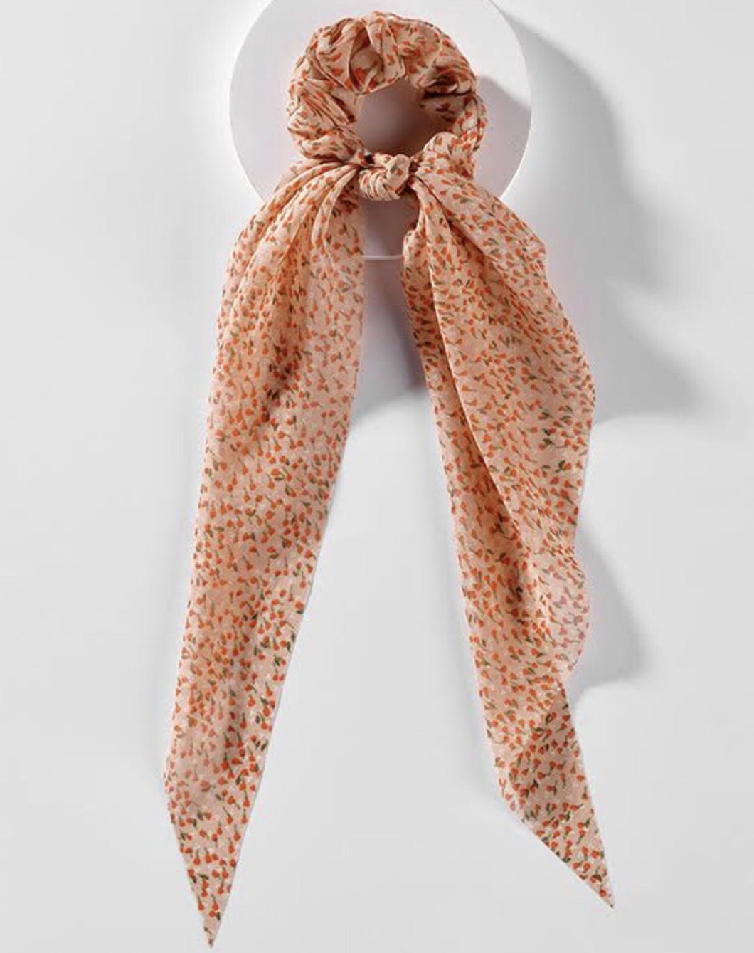 Hair Scarf- Blush Floral