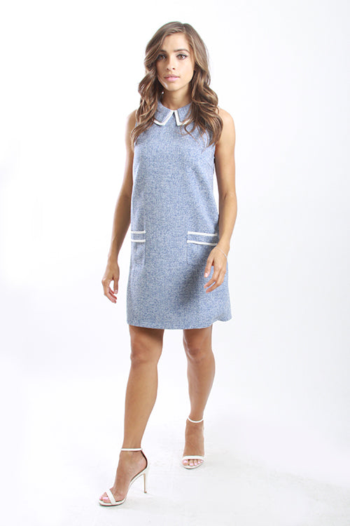 Karla Blue Dress - T21