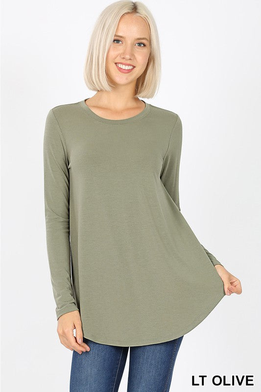 Olive Long Sleeve Tee