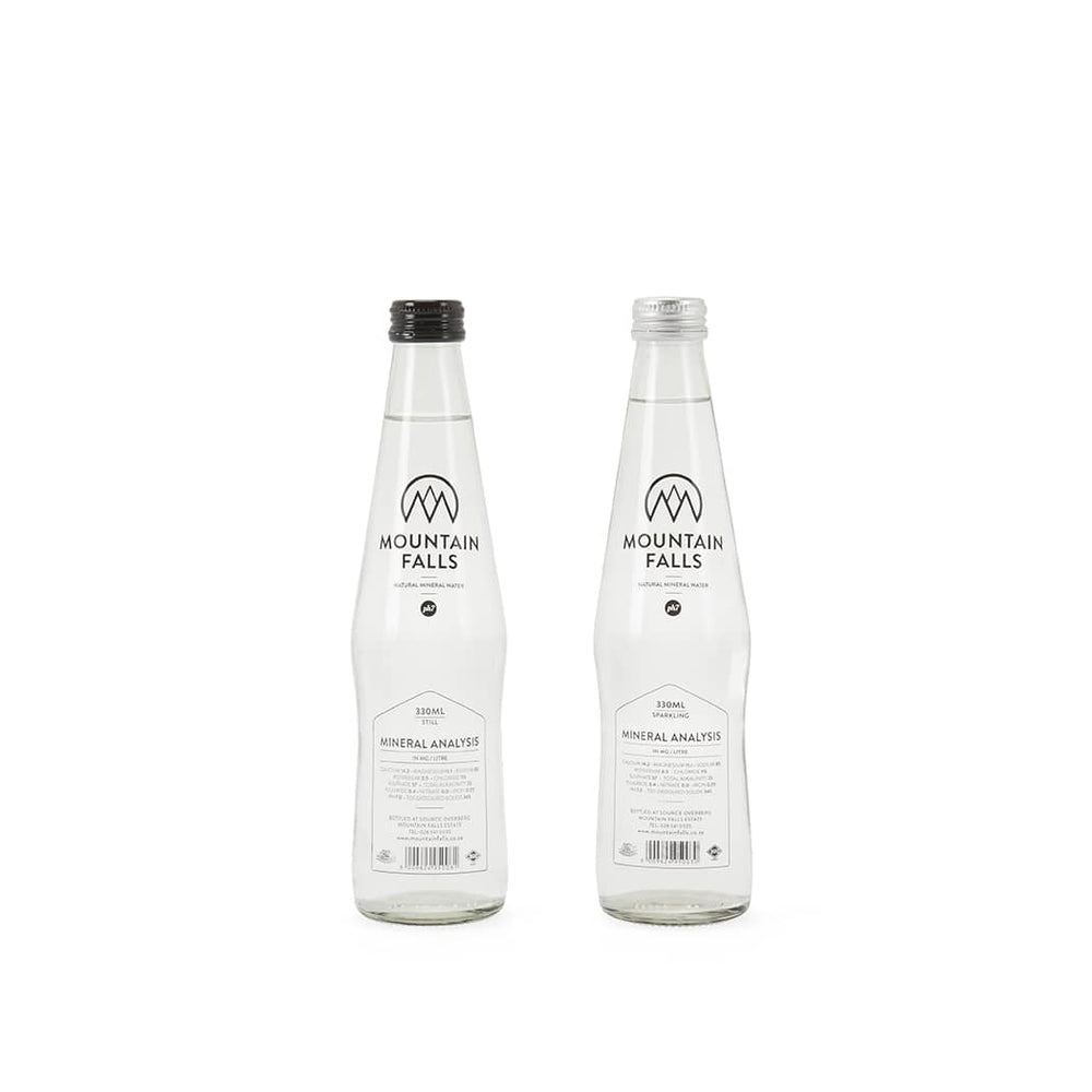 Glass - 330ml (Pack of 24) - Glass | Shop Mountain Falls Mineral Water