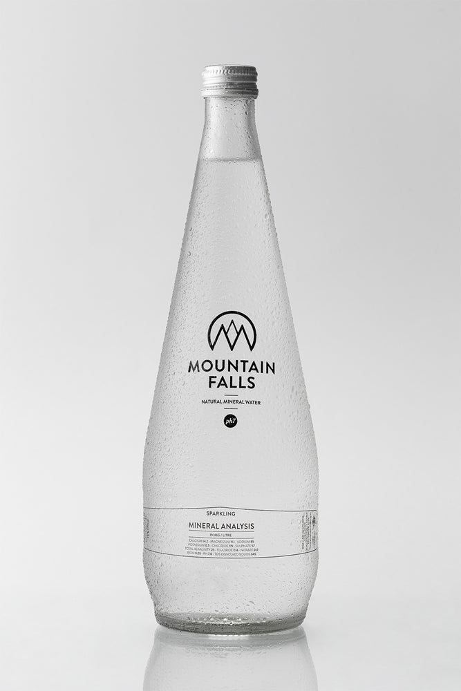 750ml - Glass (Pack of 12) - Glass | Shop Mountain Falls Mineral Water