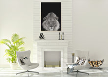 Wall Art - Lion on Black (A-424)