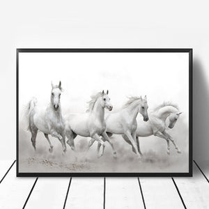 Wall Art -  Running Horses (A-766)
