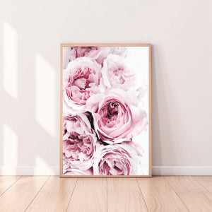 Wall Art - Peonies on Canvas (A-139)