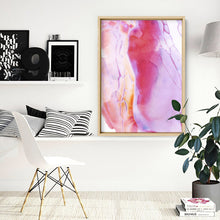 Wall art- Abstract No.8 water color- Framed/ Unframed Art print (A-567ABA08)