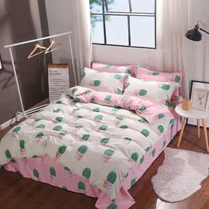 Bedding - 4 pcs Cactus Bedding set (B-106)