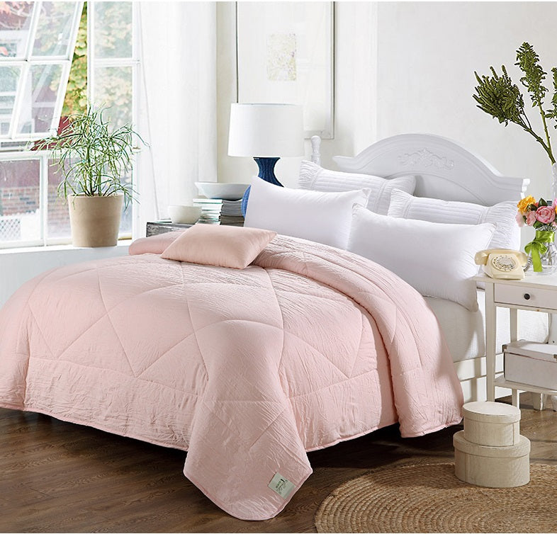Comforter Blanket Blush (Light Pink) (B-27)
