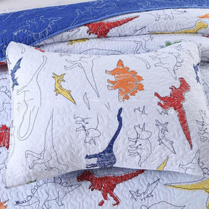 Bedding -2pc Dinosaur comforter blanket Set (B-48)
