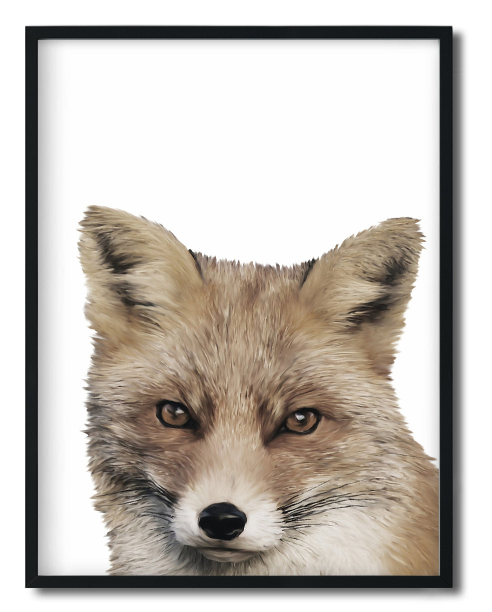 Wall Art - Felicity The Fox - Framed / unframed art print (A-802)