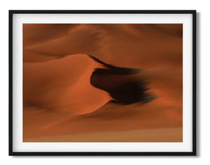 Wall Art - Sand Dunes  - Framed / unframed art print (A-490)