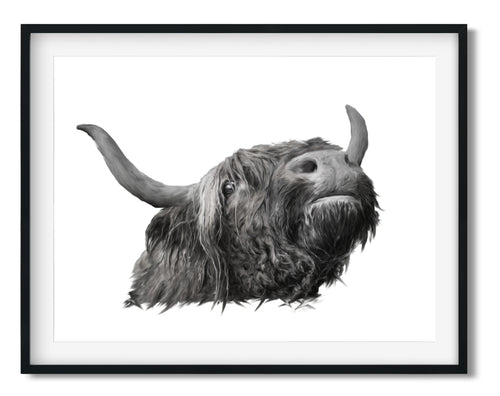 Wall Art - Highland Cow