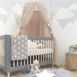 Decor Hanging Mosquito Net Dome/ Canopy - Champagne (D-14.4)