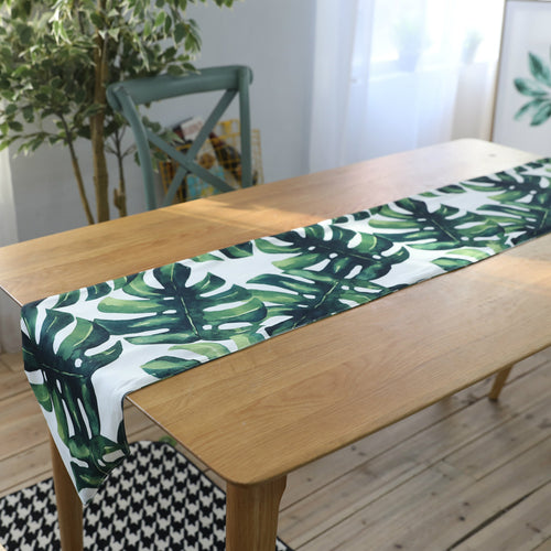 Monstera Leaf Table Runner (D-143)