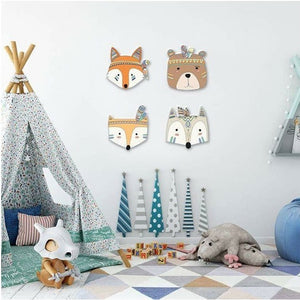 Decor - Wooden  Animal Wall Decor (D-153)