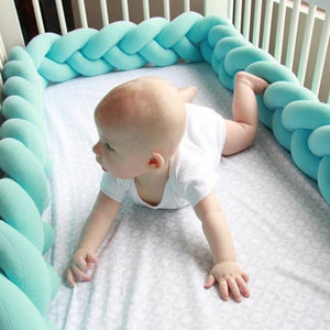 Knot Baby Bumper  - 6 colors available- (D-160)