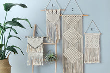 Decor- Macrame Wall Hanging Decor - (D-161)