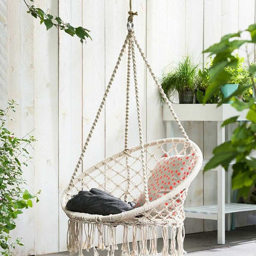 Decor -Macrame Hammock Swing chair (D-175)
