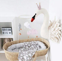 Decor - Gorgeous 3D Swan Wall Ornament (D-56)