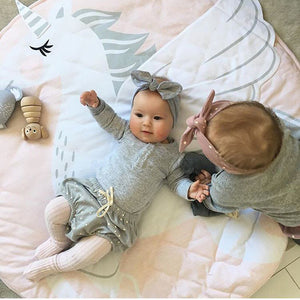 Baby play mat - Unicorn (D-89)
