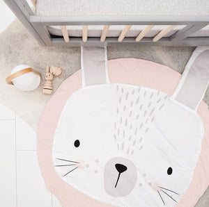 Baby play mat - Pink Rabbit (D-91)