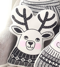 Decor -  Decorative Cushion- Reindeer (DC-14)