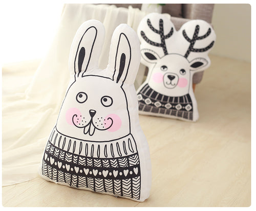 Decor -  Decorative Cushion- Rabbit (DC-15)