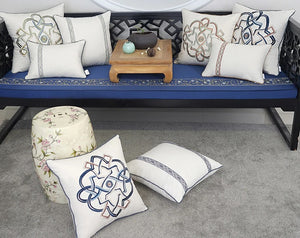 Decorative  Embroidered Cushion Cover  (DC-209.1)