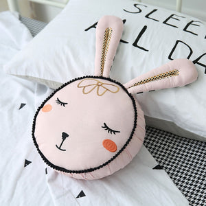 Decorative Cushion - Bunny Head Cotton Pillow (DC-2)
