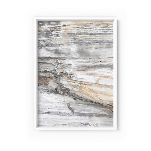 Wall art- Rock Face No.2  - Framed/ Unframed Art print (A-618ESK19)