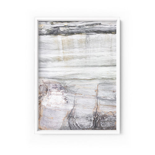Wall art- Rock Face No.3  - Framed/ Unframed Art print (A-619ESK20)