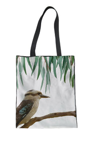 Tote Bag -Laughing Kookaburra - (G-B-109)