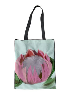 Tote Bag -Hand Drawn Protea - (G-B-110)