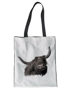 Tote Bag -Hamish - Highland Cow- (G-B-111)