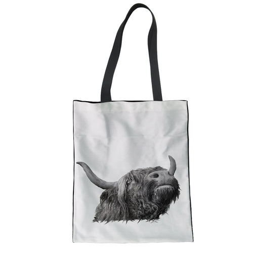 Tote Bag -Bill-The Highland Cow- (G-B-112)